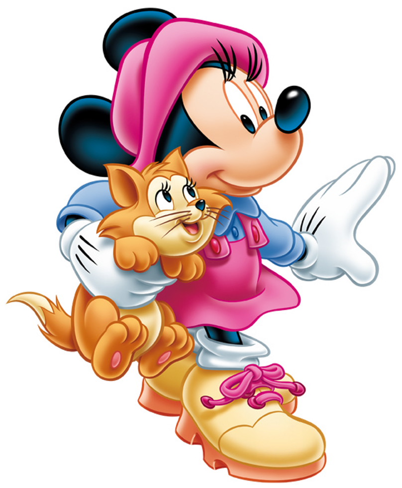 808x982 Minnie Mouse With Kitten Png Clip Art Imageu200b Gallery