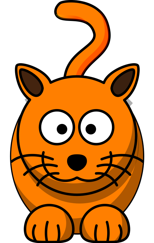 507x800 Cartoon Kitten Clipart