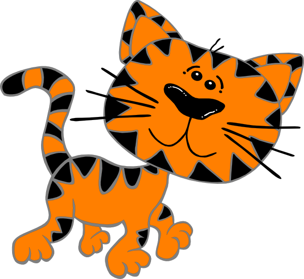 600x551 Cat Clipart Animated