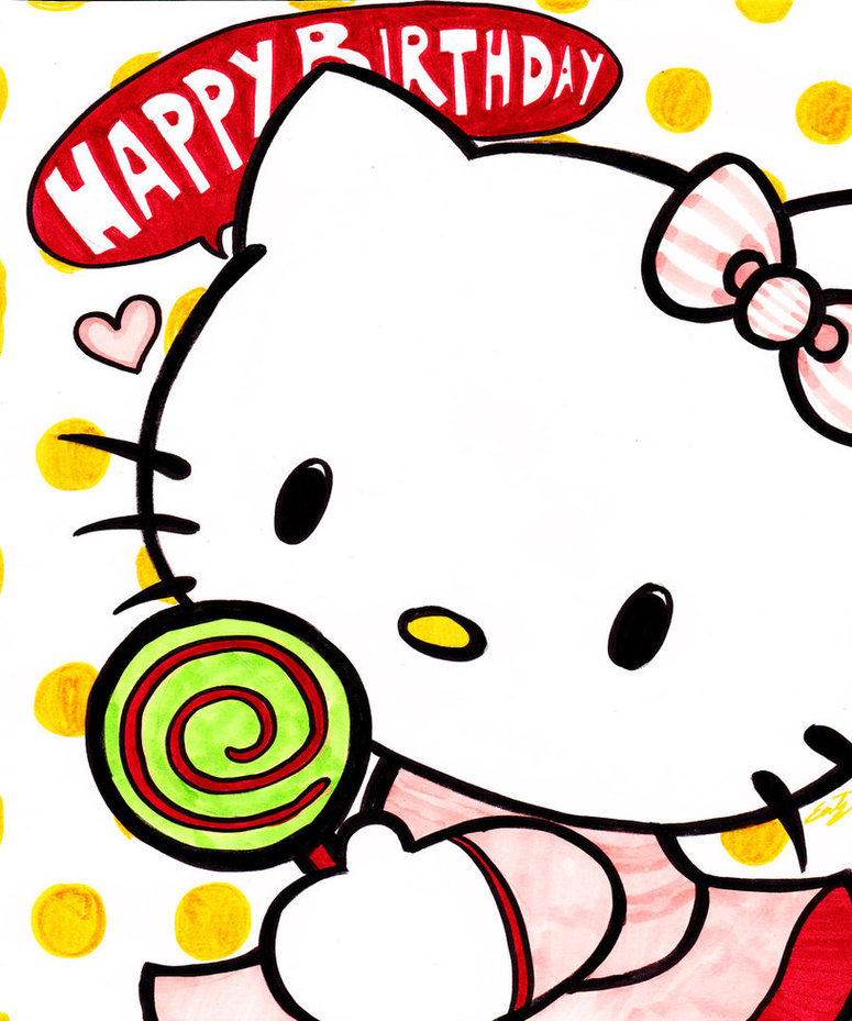 775x929 Hello Kitty Birthday Clip Art Clipart Free To Use Resource