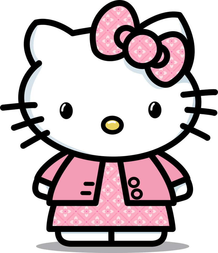 830x962 Collection Of Hello Kitty Clipart Transparent Background