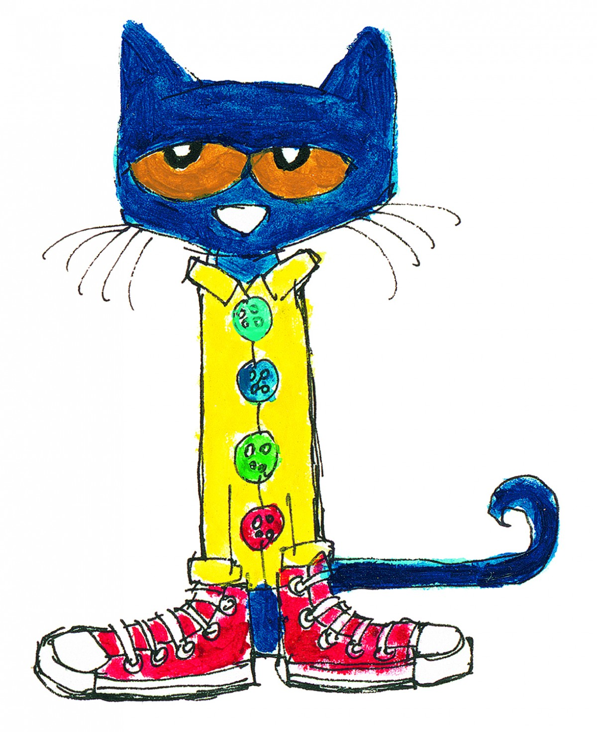1200x1471 Collection Of Pete The Cat Clipart Free High Quality, Free