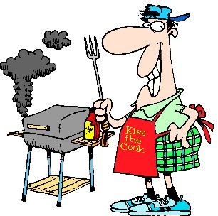 306x304 Free Clipart Bbq Page 1 For Labor Day Weekend Barbecue Grills