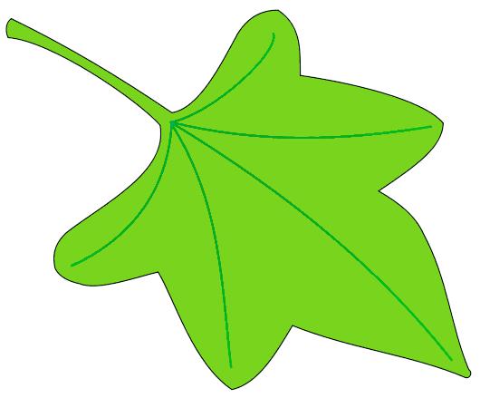 530x439 Leaf Leaves Clip Art Free Vector Image