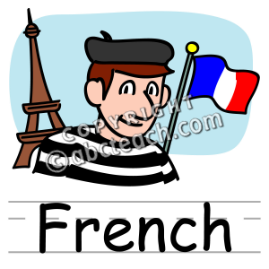 300x300 France Clipart French Language