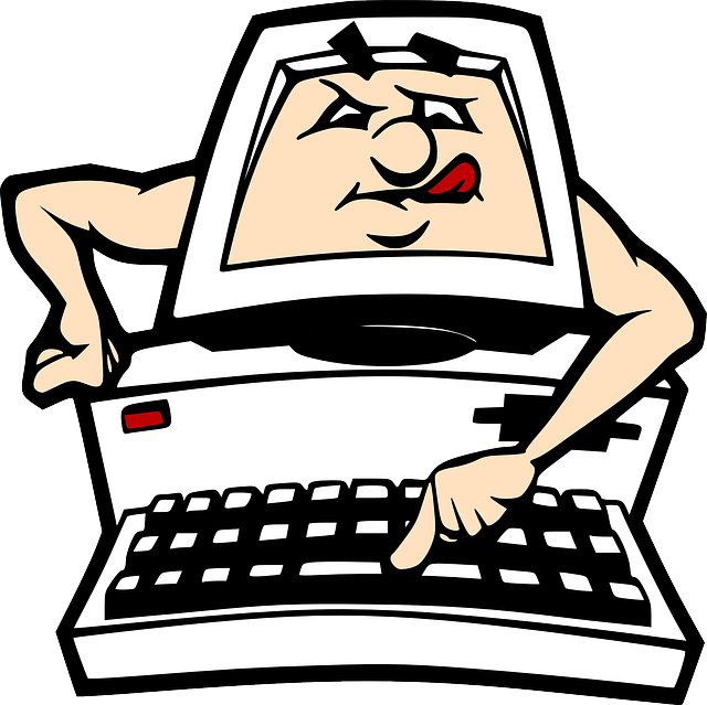 640x639 Computer, Pc, Cartoon, Keyboard, Learning, Clip Art