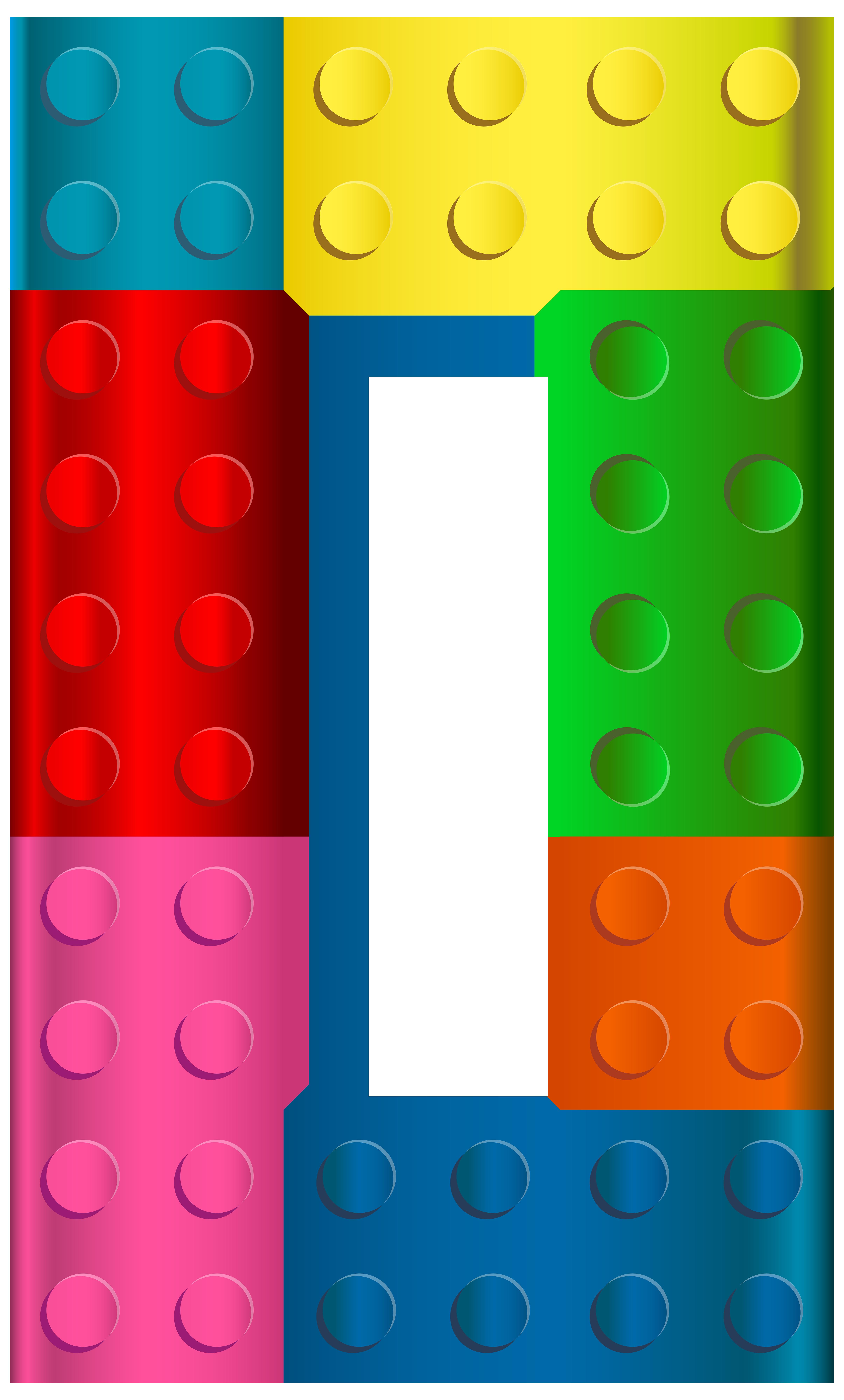 4822x8000 Lego Number Zero Png Transparent Clip Art Imageu200b Gallery