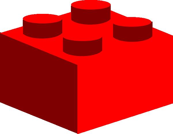 600x464 Lego Clipart Red Lego Clip Art