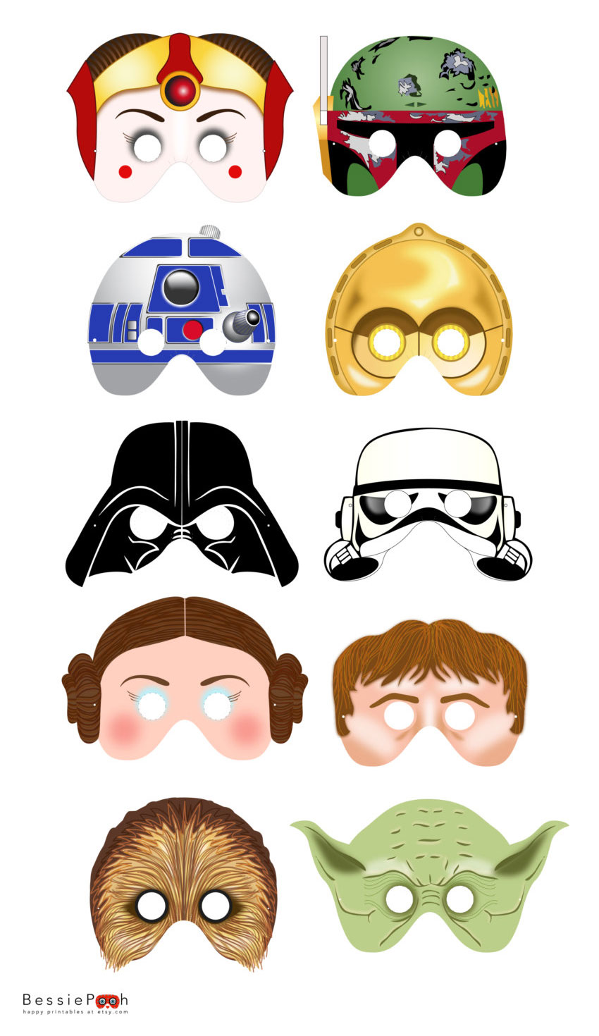 850x1470 Mask Clipart Star Wars