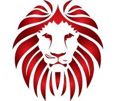 236x206 Black Amp White Lion Head Clip Art
