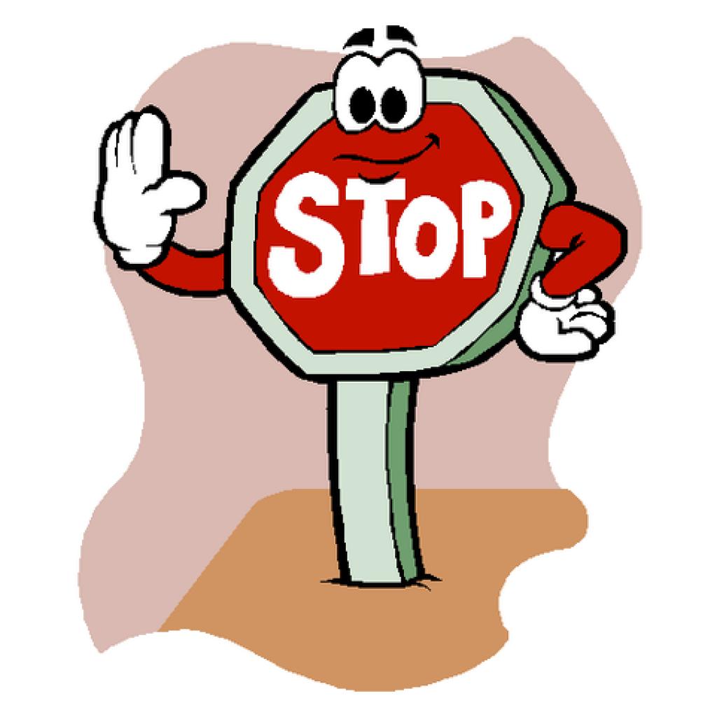 1024x1024 Stop Sign Clip Art Lion Clipart