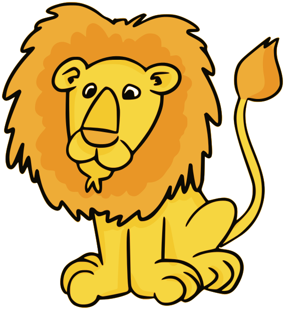 569x617 Free Lion King Clipart