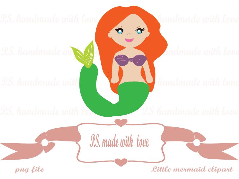 800x600 Free Little Mermaid Clipart