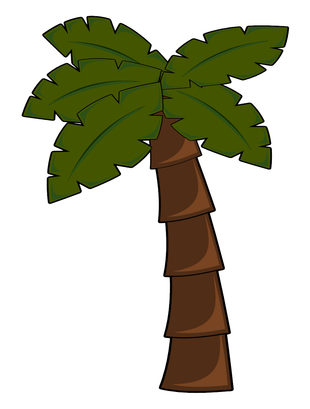 999x1318 Luau Palm Tree Clip Art Clipart Panda