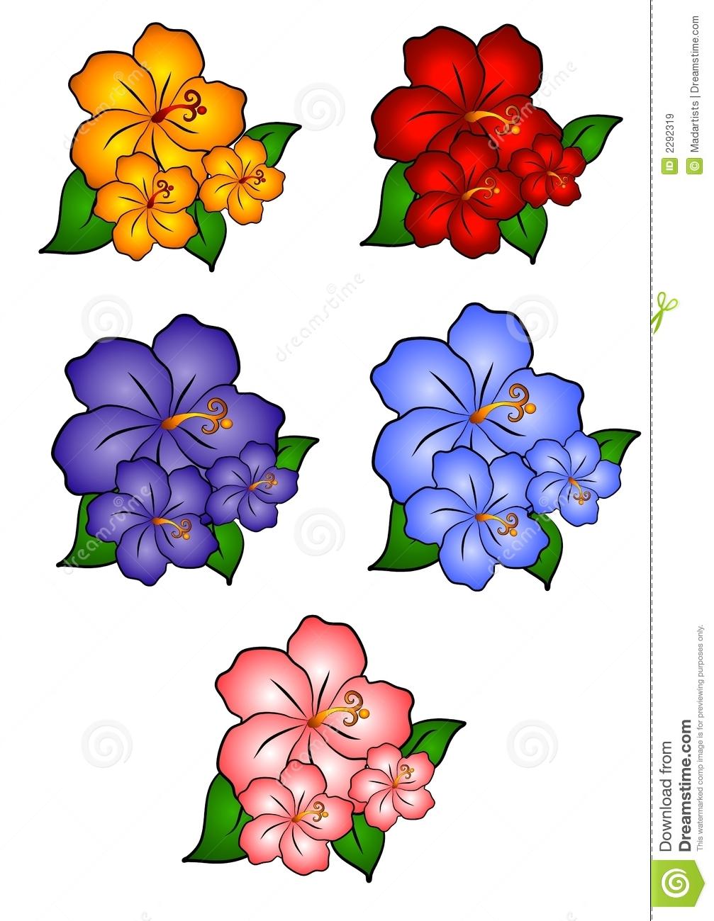1007x1300 Free Hawaiian Clip Art Images Hawaiian Luau Tiki Flowers Clipart