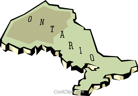 Awesome 480x335 Ontario Map Royalty Free Vector Clip Art Illustration Worl0654