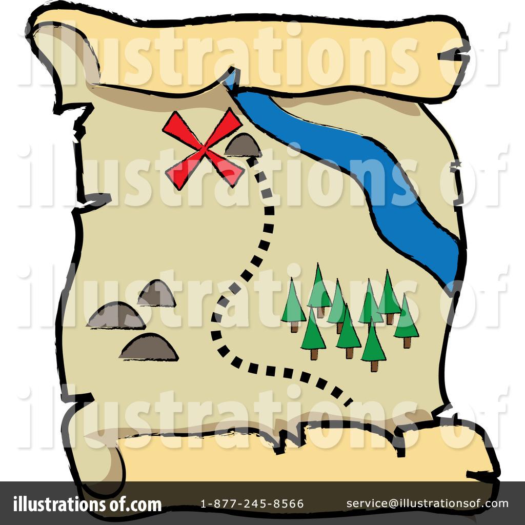 1024x1024 Treasure Map Clipart Treasure Map