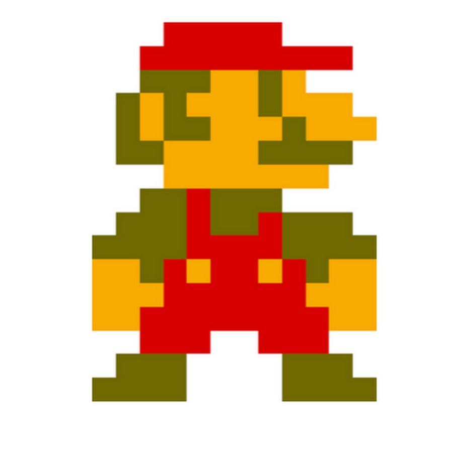 900x900 Old Clipart Mario