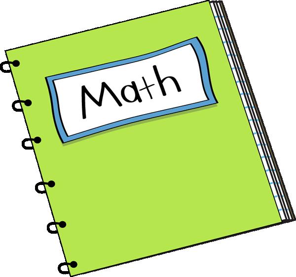 600x563 Math Notebook Clip Art