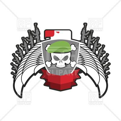 400x400 Military Emblem