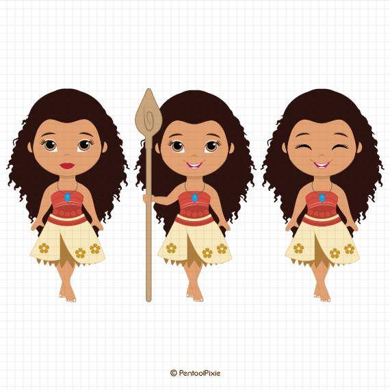 570x570 Moana Clipart, Polynesian Princess Clipart, Fairytale Clipart