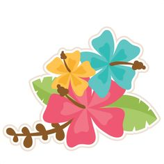 236x236 Pink Hibiscus Clip Art