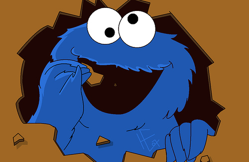 500x325 Cookie Monster Clipart 5
