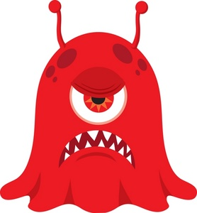 278x300 Free Monster Clipart Image 0071 0911 1622 2456 Computer Clipart
