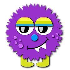 225x225 Free Cute Monster Clip Art Silly Monster Clip Art Image