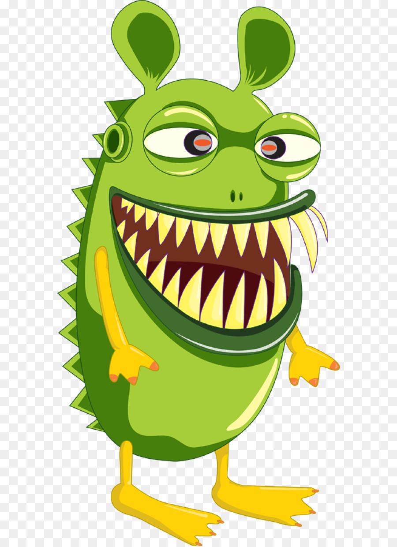 900x1240 Cookie Monster Alien Clip Art