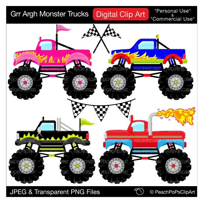 Free Monster Truck Clipart