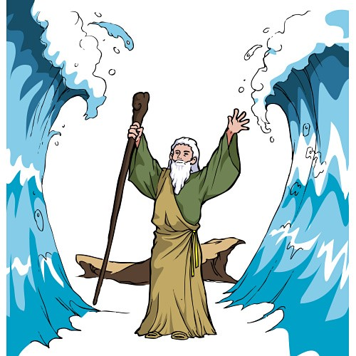 500x500 Best Photos Of Moses Red Sea Clip Art