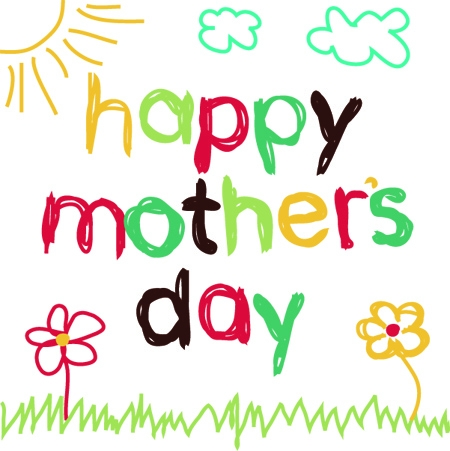 450x451 Mothers Day Images, Pictures To Color, Animated Amp Clip Art Draw