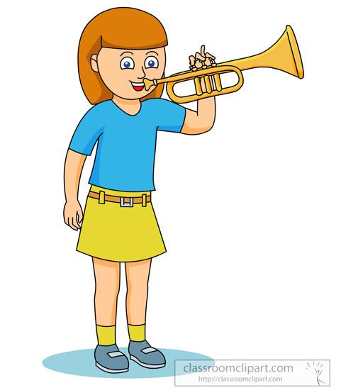 481x550 Trumpet Clip Art