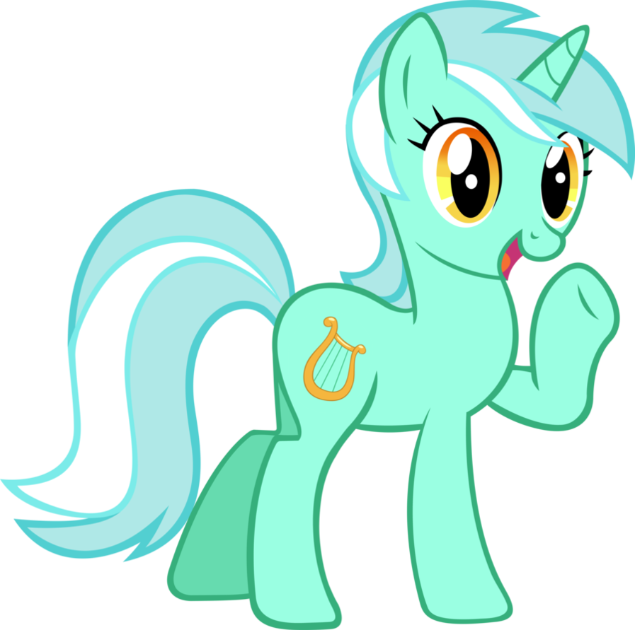 897x891 My Little Pony Clipart Green