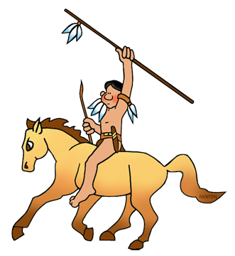 331x360 Free Native American Transportation Clip Art By Phillip Martin