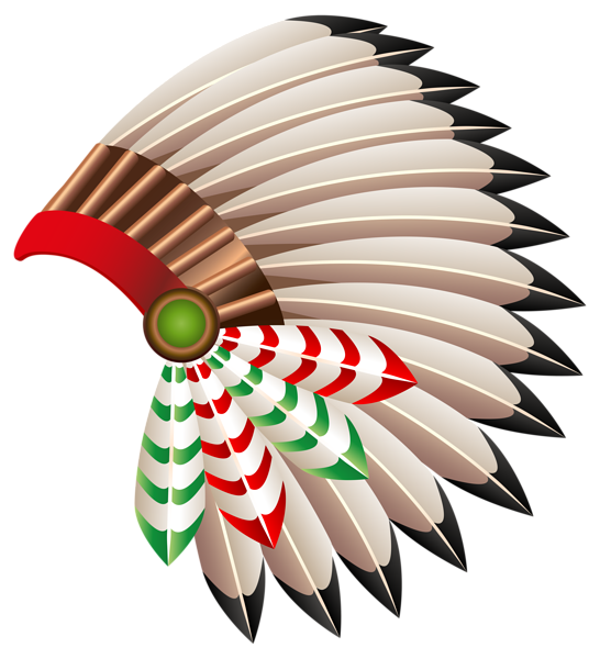 546x600 Native American Chief Hat Transparent Png Clip Art Image