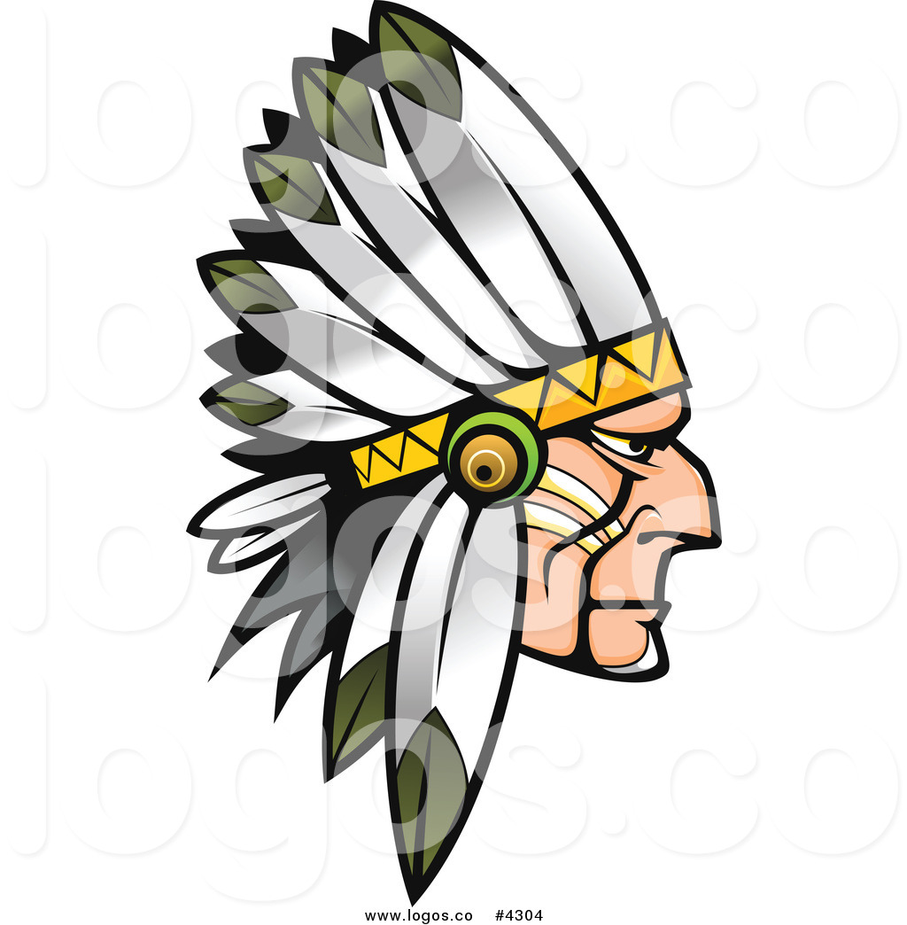 1024x1044 Royalty Free Native American Profile Logo By Vector Tradition Sm