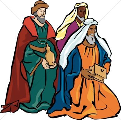 388x384 Holy Family Clipart Black And White
