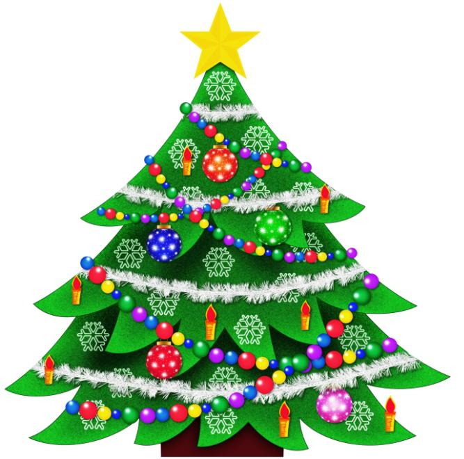667x660 Merry Christmas Clip Art 2018 Free Christmas Tree Clipart