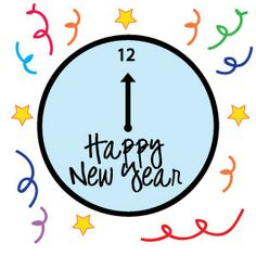 236x236 Happy New Year Clipart For Kids And Adults New Year Clip Art