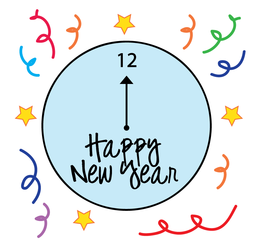 878x855 Sunday New Year Clip Art Merry Christmas And Happy New Year 2018