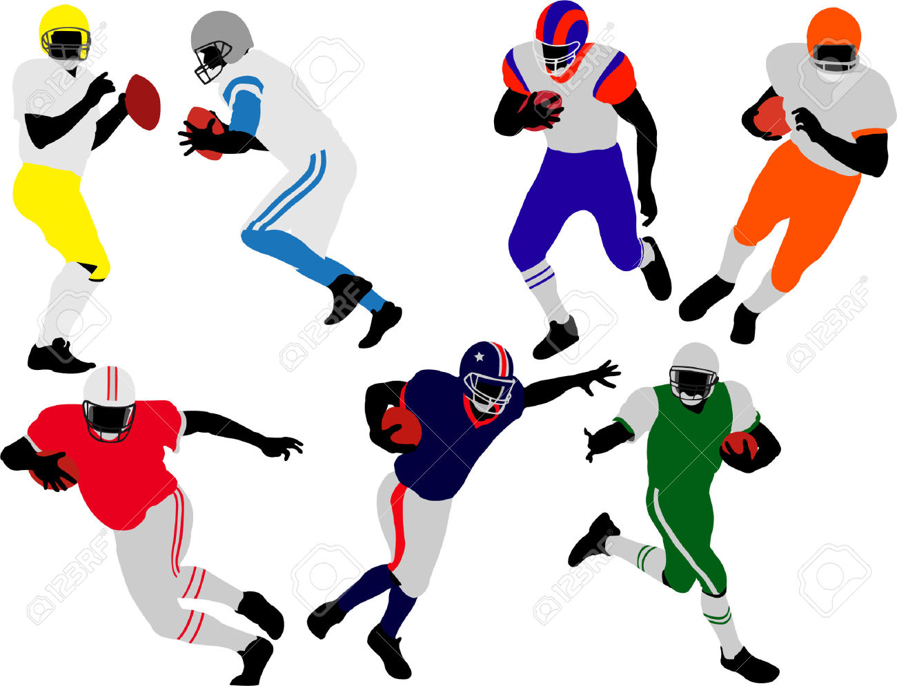 1300x994 Receiver Clipart Nfl Player