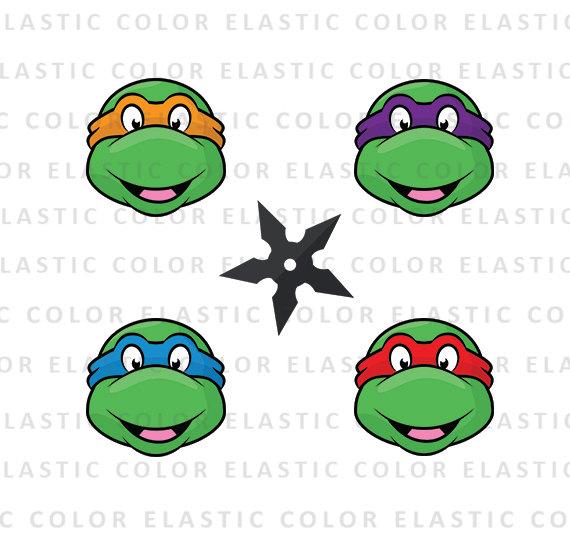 570x550 Head Clipart Ninja Turtle