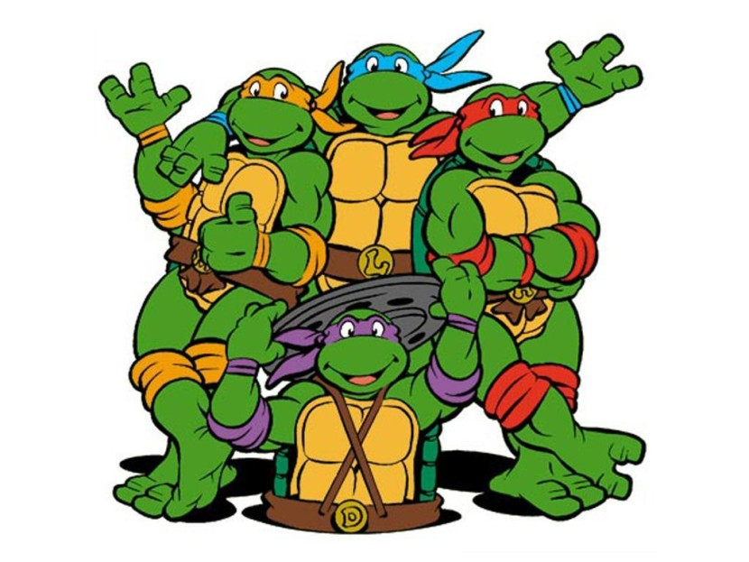 830x623 Ninja Turtle Clip Art