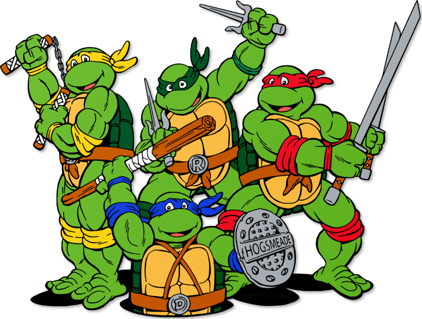 830x627 Collection Of Teenage Mutant Ninja Turtle Clipart High