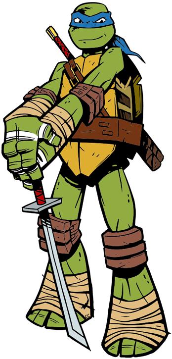 348x725 Teenage Mutant Ninja Turtles Clip Art Cartoon Clip Art