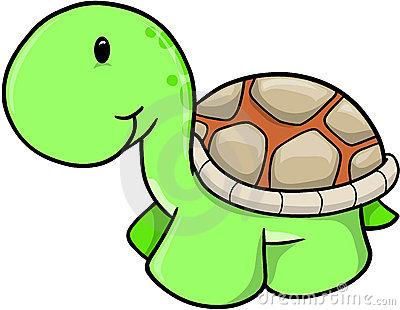 400x310 Cute Turtle Clipart