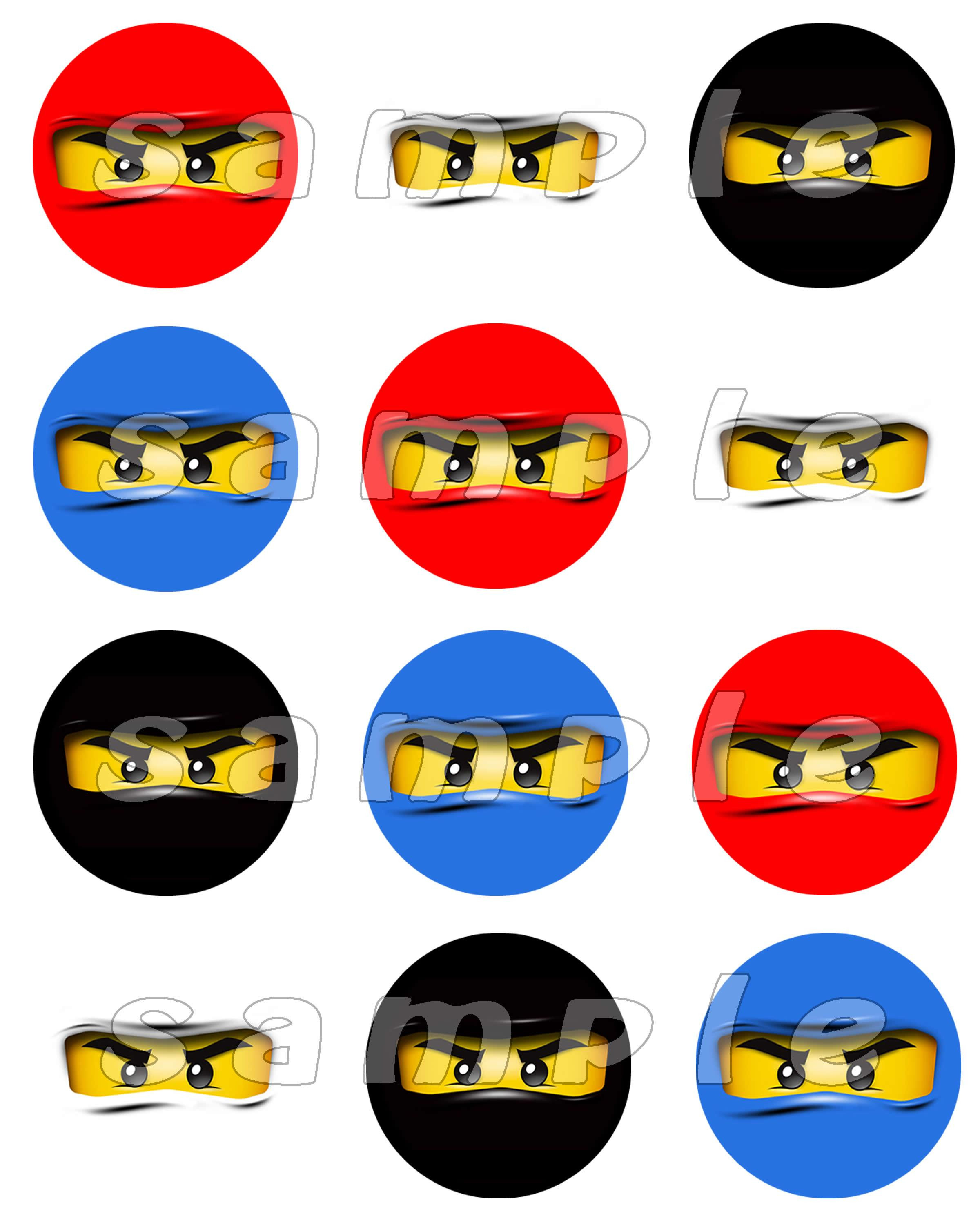photograph about Ninjago Eyes Printable known as Cost-free Ninjago Clipart at  No cost for specific