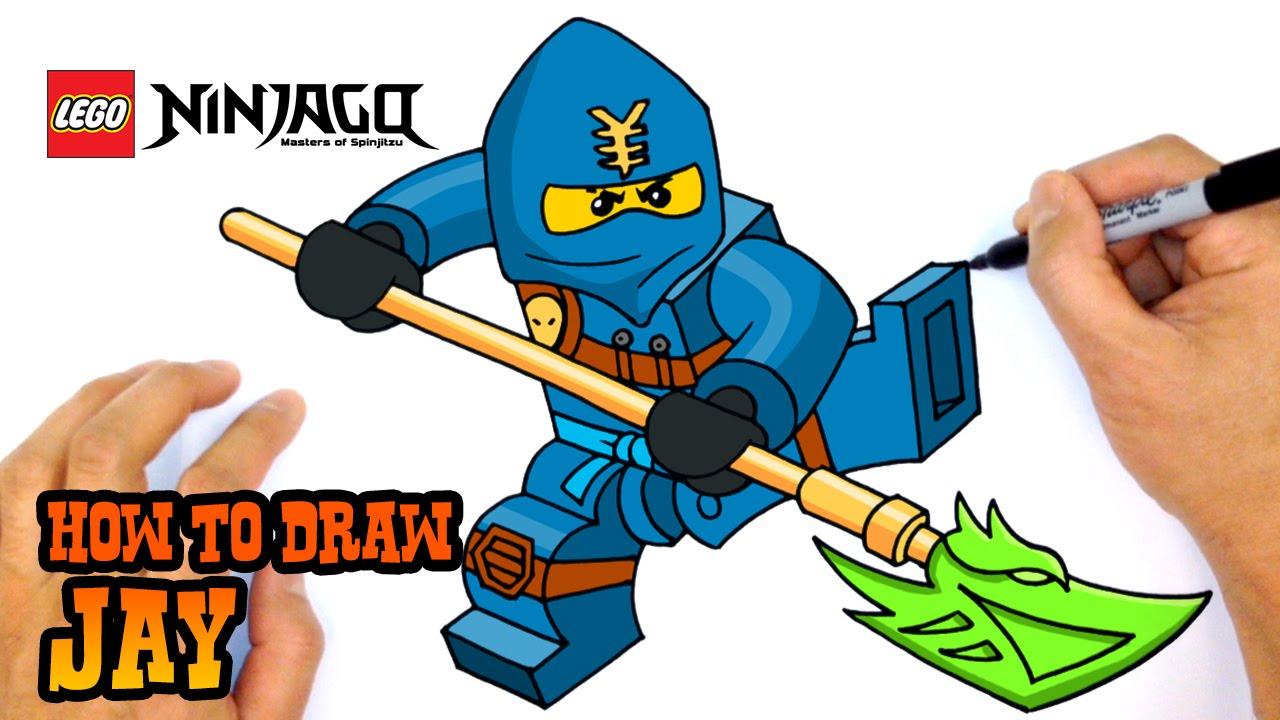 1280x720 How To Draw Jay Ninjago
